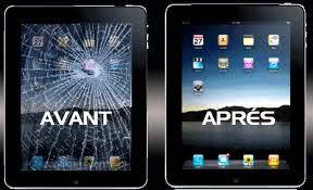 réparation iPad cassé