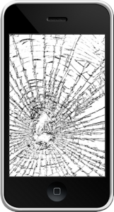 iphone 2g écran cassé