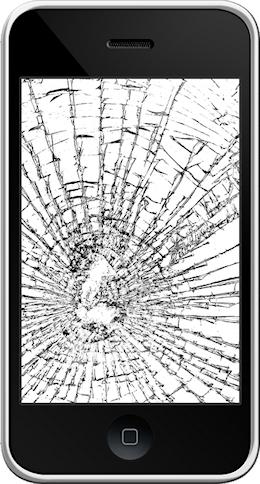 iPhone 3G écran cassé