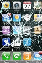 iPhone 3GS cassé