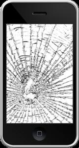 iphone 3gs écran cassé